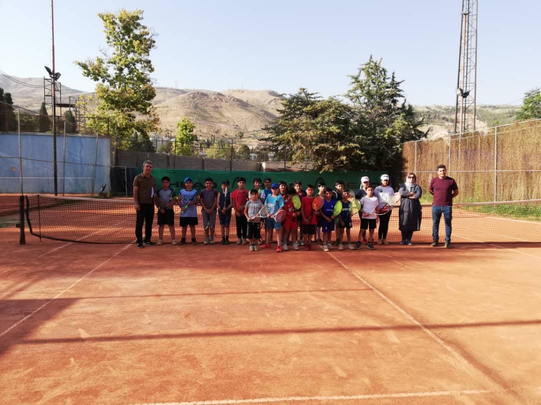 بازیکنان مستعد تنیس فارس مورد ارزیابی قرار گرفتند