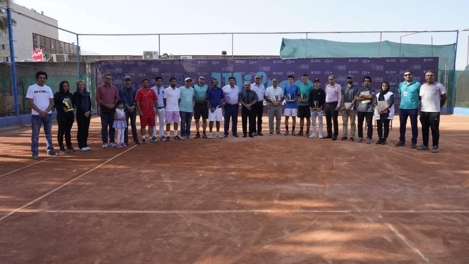 پایان  مسابقات تنیس بین المللی بین المللی جوانان  (ITF)  در شیراز