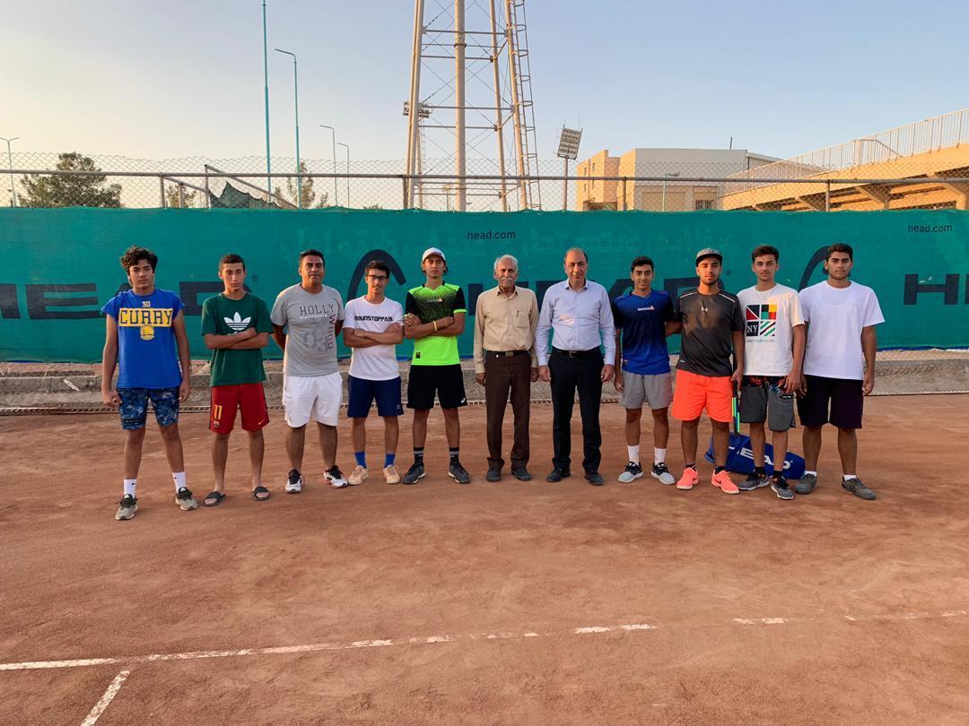 تیم هیات تنیس فارس نائب قهرمان درو رفت لیگ اینده سازان (جوانان)