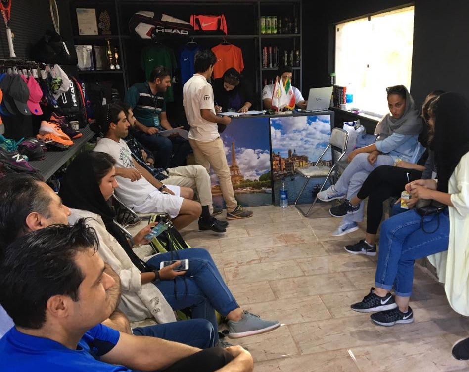 جدول اصلی مسابقات کشوری تنیس بانوان شیراز (جام پرسیا تور ) بسته شد