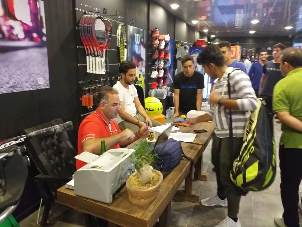 شروع مسابقات تنیس بین المللی  ITF  در شیراز